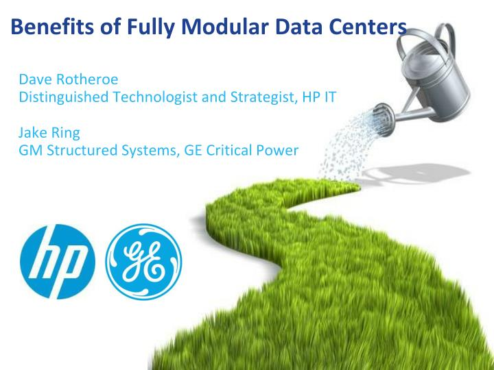 benefits of fully modular data centers n.