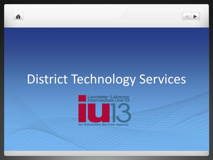 district technology services n.