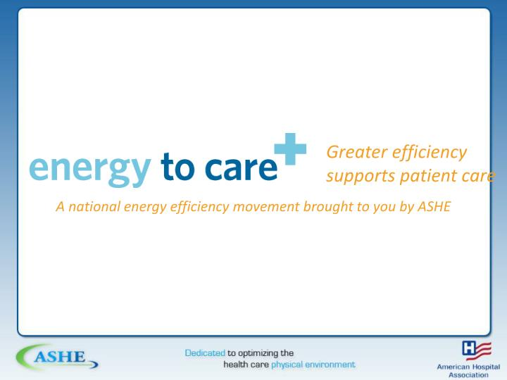Greater efficiency supports patient care