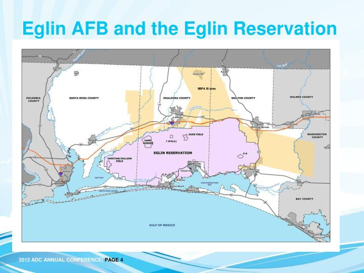 Eglin AFB and the Eglin Reservation