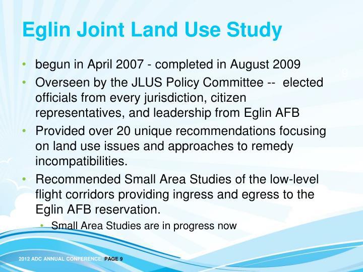 Eglin Joint Land Use Study