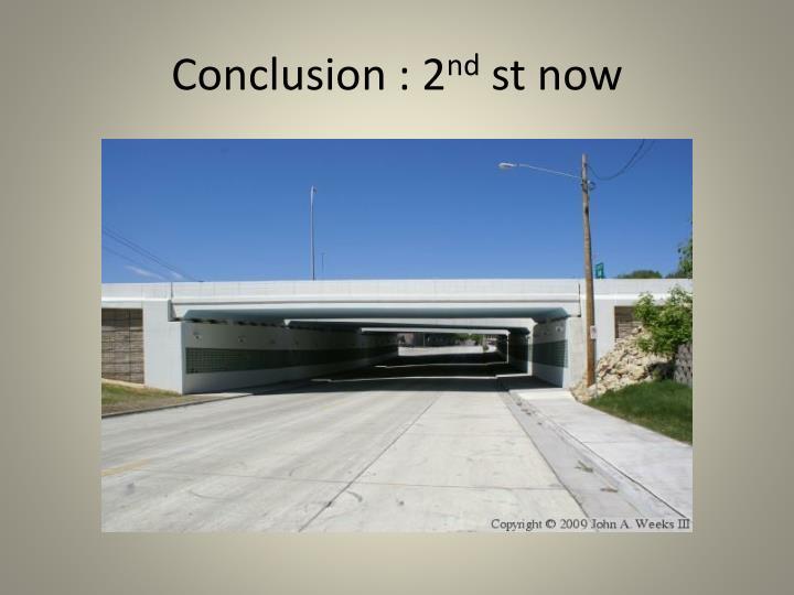 Conclusion : 2