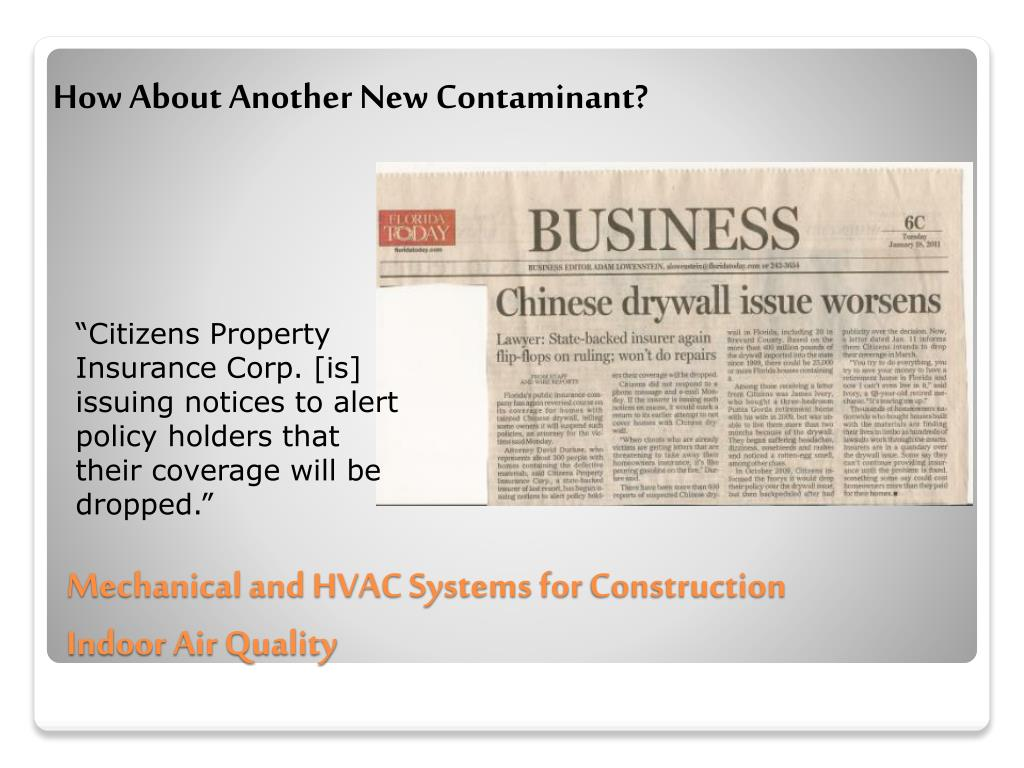 Ppt Mechanical And Hvac Systems For Construction Powerpoint Presentation Id 1618165