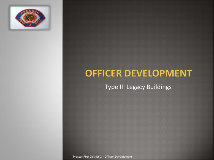 officer development n.