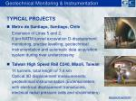 geotechnical monitoring instrumentation1