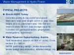 water management hydro power2