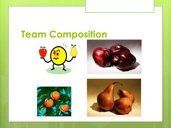 Team Composition