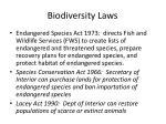 biodiversity laws
