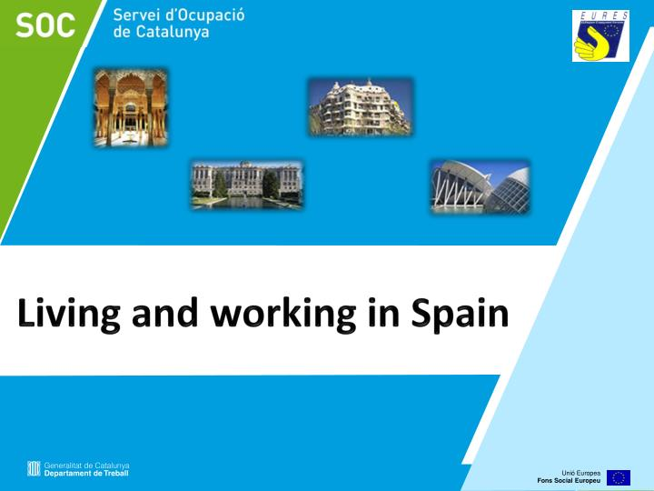 living and working in spain n.