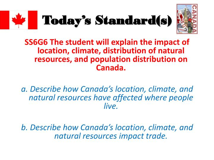 What Natural Resources Does Canada And America Have