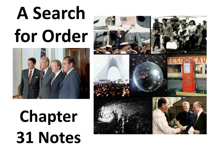 a search for order n.