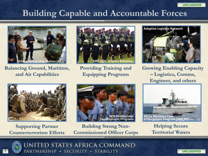 Building Capable and Accountable Forces