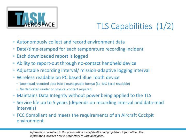 Tls capabilities 1 2