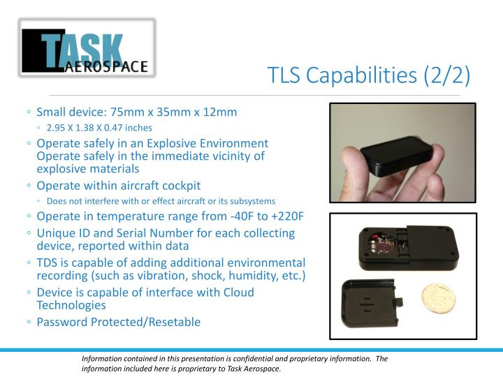 TLS Capabilities (2/2)