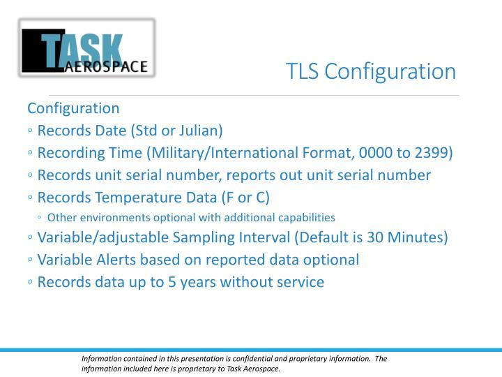 TLS Configuration