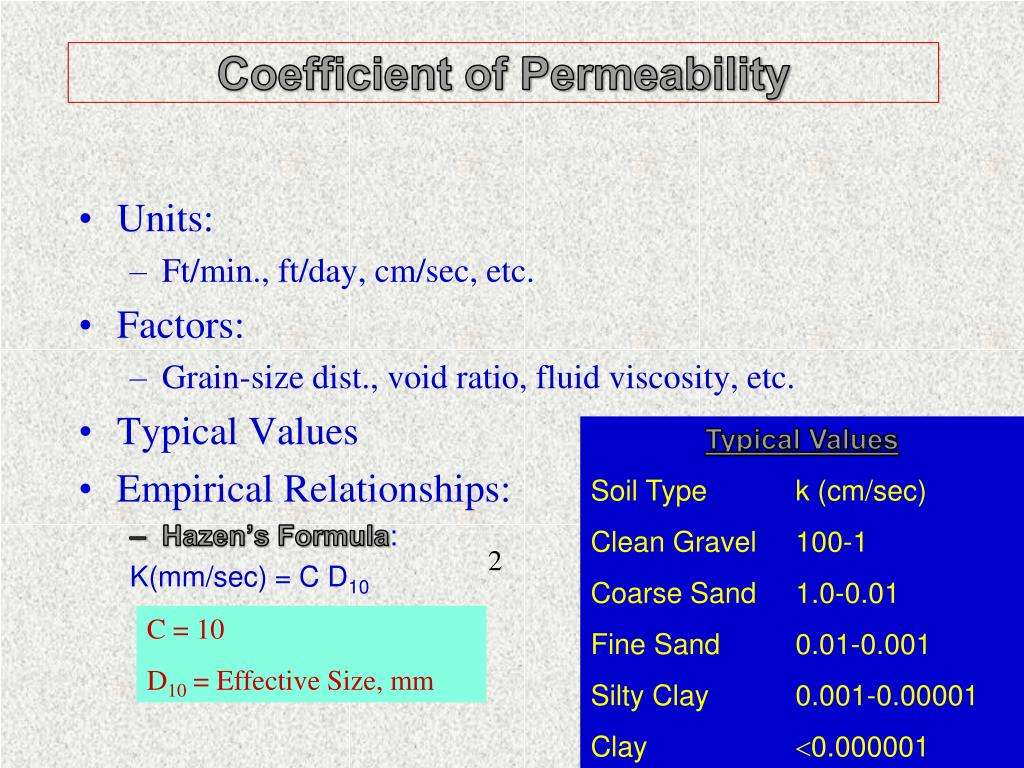 PPT - SIGNIFICANT SOIL PROPERTIES PowerPoint Presentation