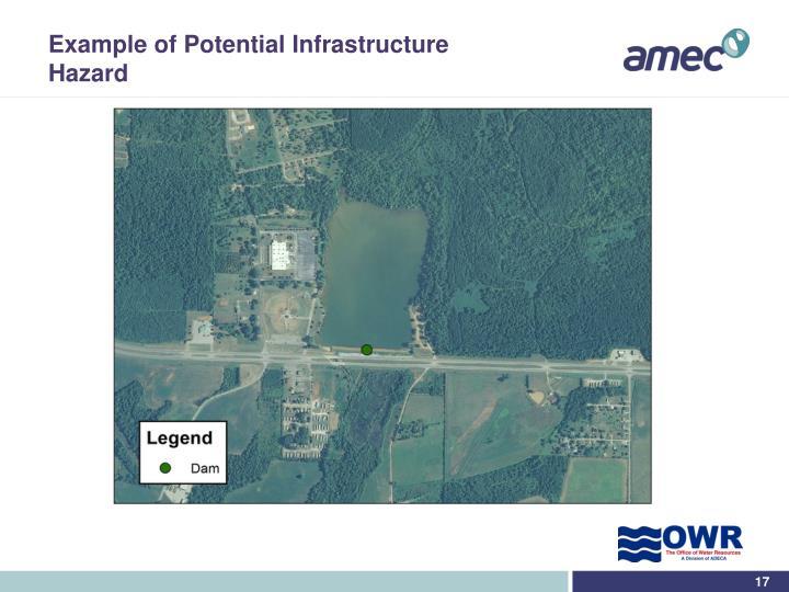 Example of Potential Infrastructure Hazard