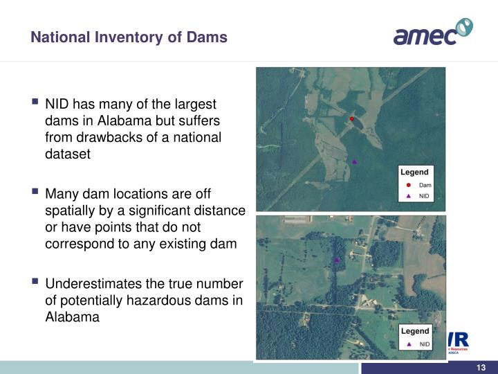 National Inventory of Dams