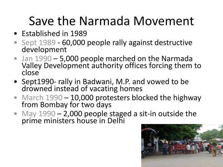 Save the Narmada Movement