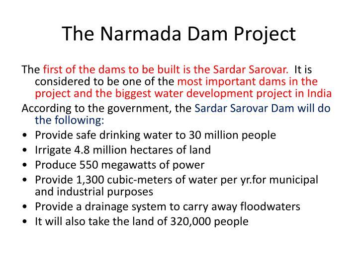 The Narmada Dam Project