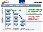 objective the neutral asphalt plant