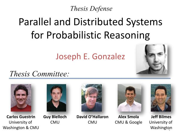 parallel and distributed systems for probabilistic reasoning n.