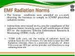 emf radiation norms