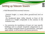 setting up telecom towers1