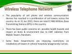 wireless telephone network