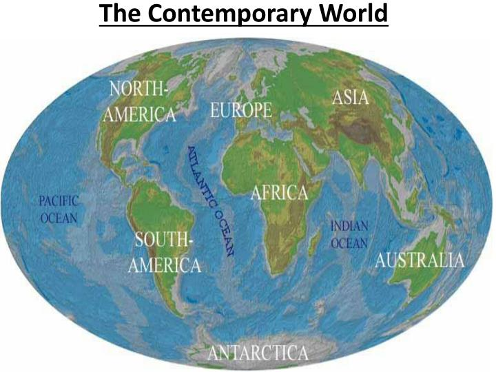 the contemporary world n.