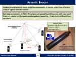 acoustic beacon
