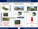 nemo smo data transmission system