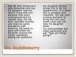 mr duddleberry