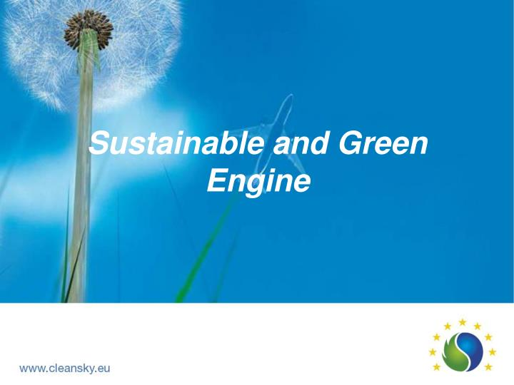 sustainable and green engine n.