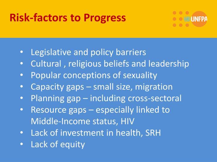Risk-factors to Progress