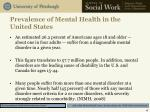 prevalence of mental health in the united states