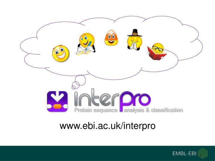www.ebi.ac.uk/interpro