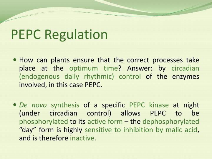PEPC Regulation