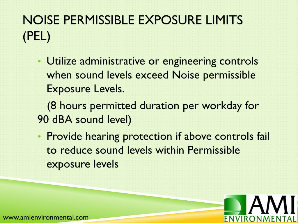 PPT - Occupational Noise PowerPoint Presentation - ID:1619495