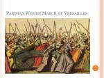 parisian women march of versailles