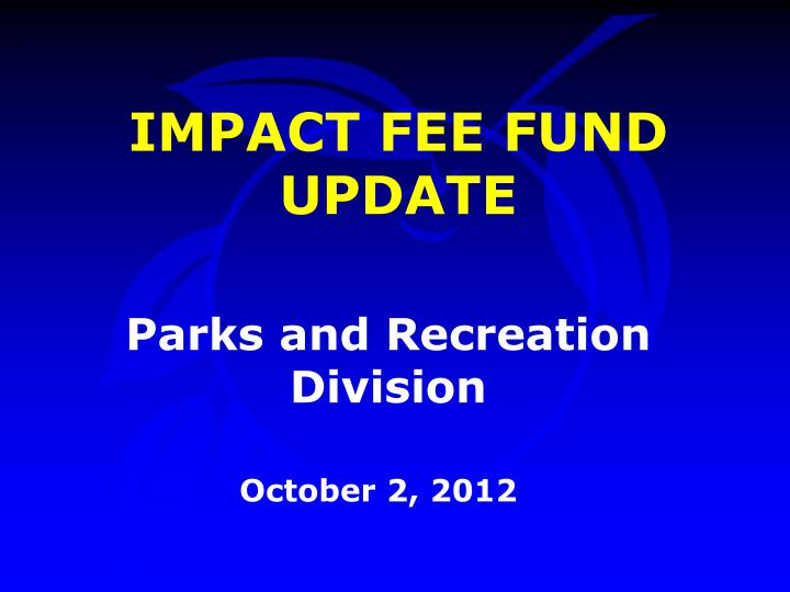 parks and recreation division n.