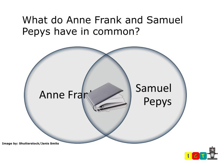 What do Anne Frank and Samuel Pepys have in common?
