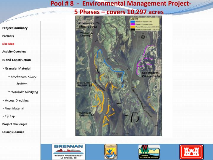 Pool # 8  -  Environmental Management Project-