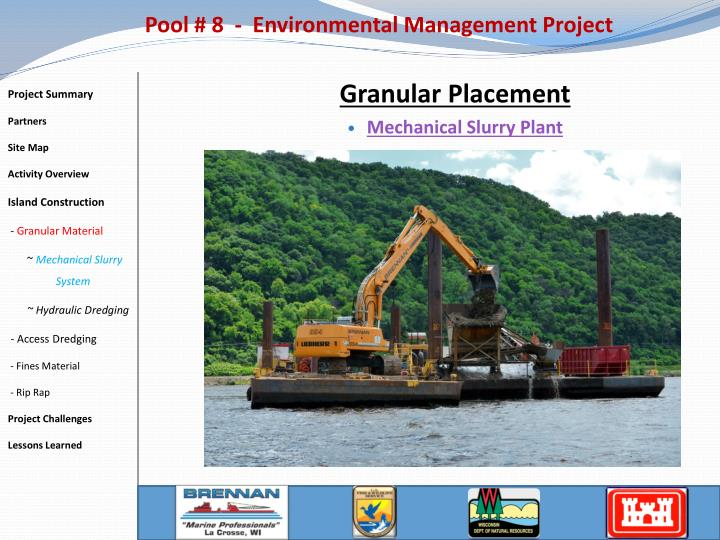 Pool # 8  -  Environmental Management Project