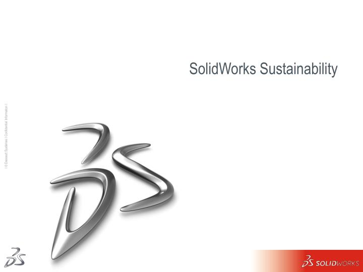 solidworks sustainability n.