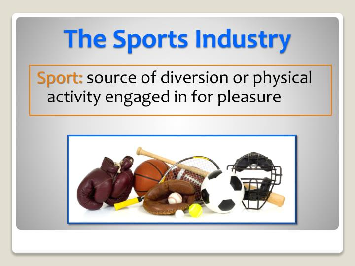 investigating the nature of the sports industry essay Industries in india contribute to more than half of the national income items of daily use like toothpaste, soaps, processed foods, medicines, etc are manufactured by industries the population of india is so large that we need many such industries to produce enough material so that things are.