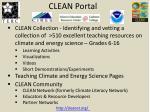 clean portal
