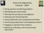 science engineering practices s ep