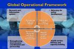 global operational framework
