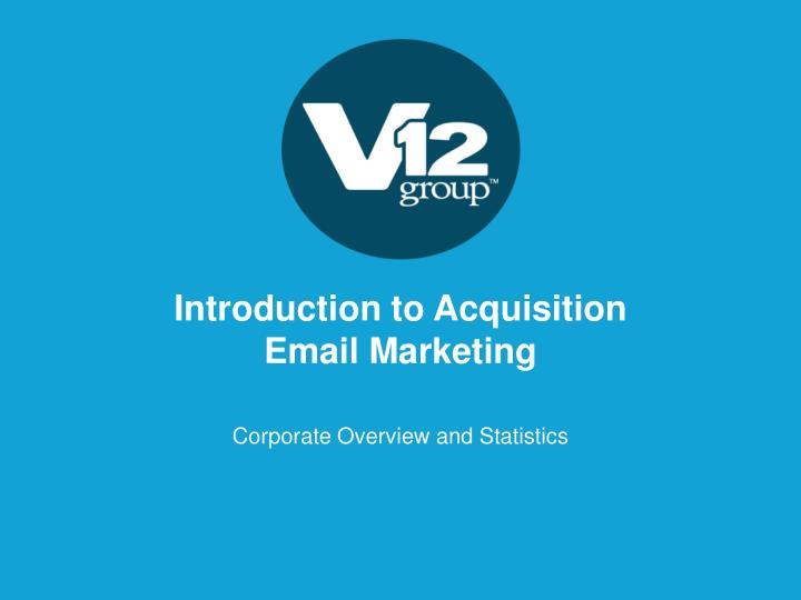 introduction to acquisition email marketing n.